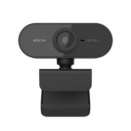 Webcam Usb Full Hd 1080P Com Microfone Visão 360°