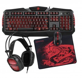KIT 4x1 GAMING EDITION HOOPSON - TPC-050 KANE PRO