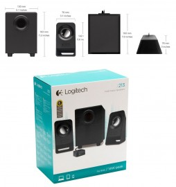 Multimedia Speakers Logitech Z213 Com Fio