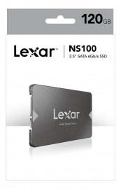 SSD Lexar NS100 120GB SATA Leitura 520MB/s