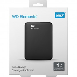 HD Externo Western Digital Elements 1TB 3.0