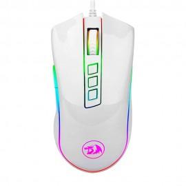 Mouse Gamer Redragon Cobra RGB 7 Botões 10000DPI Lunar White