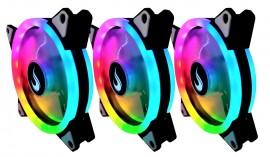 Kit FAN RGB 3X SUPER LED 120mm