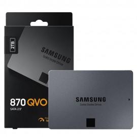 SSD Samsung 870 QVO 2TB Sata III Leitura / Gravação: - Até 560/530 MB / s