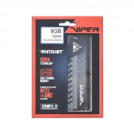 Memória Patriot Viper 8GB (1x8GB) 2666MHz DDR4 CL16 Cinza