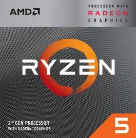 Processador AMD Ryzen 5 3400G Cache 4MB 3.7GHz (4.2GHz Max Turbo) AM4