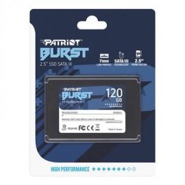 SSD Patriot Burst 120GB Sata III, 2.5 Leitura 450MBs e Gravação 320MBs