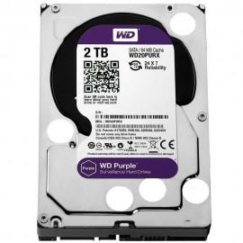 HD WD Purple Surveillance 2TB, 3.5' SATA