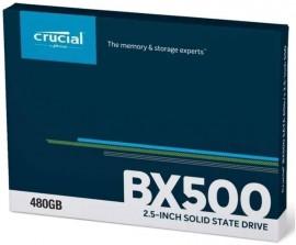 SSD Crucial BX500 480GB SATA Leitura 540MB/s Gravação 500MB/s