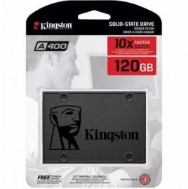 SSD KINGSTON A400 120GB 500MB/s para leitura e 320MB/s para gravação