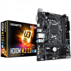 Placa-Mãe Gigabyte H310M M.2 2.0 Intel LGA 1151 mATX DDR4